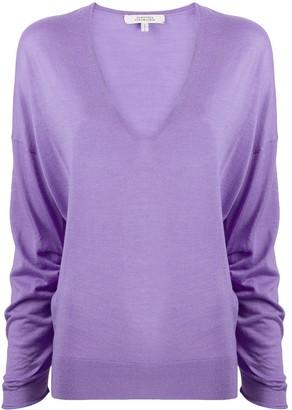 Dorothee Schumacher V-neck wool-silk jumper