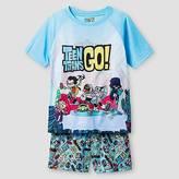 Boys' Teen Titans Go!®; 2 Piece Pajama Set - Blue S