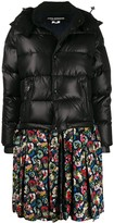 Thumbnail for your product : Junya Watanabe Contrast Zipped Parka Coat
