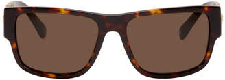 Versace Tortoiseshell Medusa Medallion Rock Icon Sunglasses