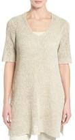 Eileen Fisher Women's Sheer Knit Tunic