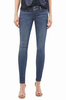Salsa Push Up Wonder Skinny Coolmax mid Colour Jeans Blue