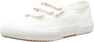 Superga Women's 2750-cot3velu Trainer Shoes - White (White) 4 UK