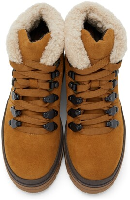 See by Chloe Tan Suede Aure Boots