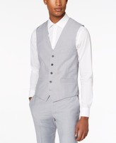 INC International Concepts Inc Men's Slim-Fit Gray Suit Vest, Created for Macy's