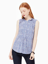 Kate Spade Petals pleated top