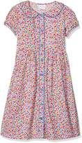 Rachel Riley Girl's Floral Button-Front Dress