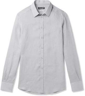 Dolce & Gabbana Slim-Fit Linen Shirt - Men