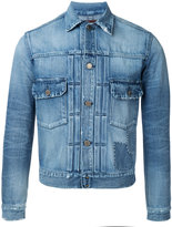 Factotum stonewashed denim jacket