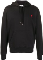 Thumbnail for your product : AMI Paris Ami De Coeur logo hoodie