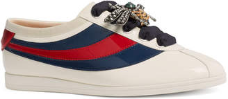 Gucci Falacer Patent Sneakers