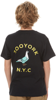 Zoo York Kids Boys Gutter Tee Black