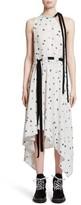 Proenza Schouler Women's Print Silk Asymmetrical Dress
