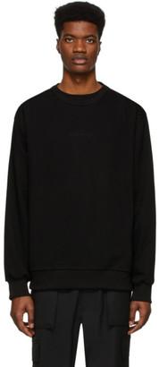 Juun.J Black Symmetry Sweatshirt