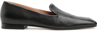 Arket Square Toe Leather Loafers