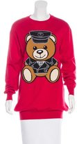 Moschino Teddy Bear Crew Neck Sweater