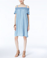 INC International Concepts Cold-Shoulder Shift Dress, Created for Macy's
