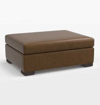 """Rejuvenation Wrenton Leather Ottoman for 96"""" Sofa"""