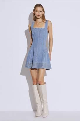 C/Meo Collective BETWEEN THE LINES DRESS blue denim