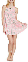 Kate Spade Floral Jersey Bow & Keyhole Chemise