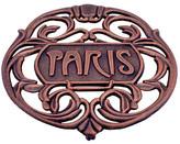 ODI HOUSEWARES Antique Copper Paris Trivet
