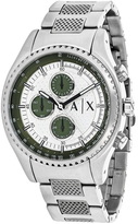 Giorgio Armani Exchange The Diver AX1613 Men's Stainless Steel Chronograph Watch with Tachymeter
