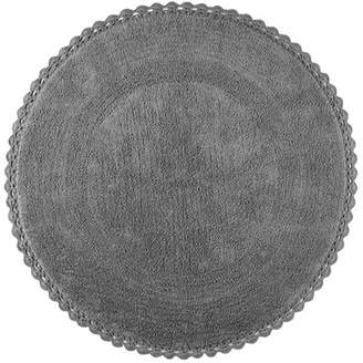 Elle Decor Harper Round Accent Cotton Gray Area Rug Elle Decor Rug Size: Round 3'