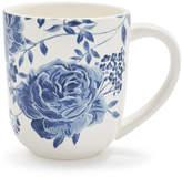 Sur La Table Blue Floral Mug