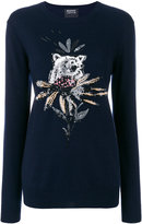 Markus Lupfer Bear motif sweater
