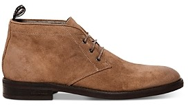 AllSaints Men's Huxley Suede Lace-Up Chukka Boots