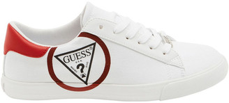 GUESS Garit2 White/Red Sneaker