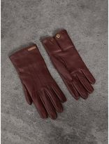 Burberry Cashmere Lined Lambskin Gloves