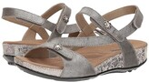 Romika Fidschi 54 (Platin Metallic) Women's Sling Back Shoes