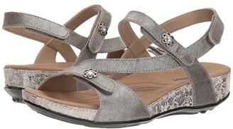 Romika Fidschi 54 (Platin Metallic) Women's Sling Back Shoes