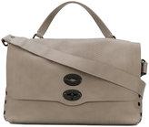 Zanellato stud detail shoulder bag