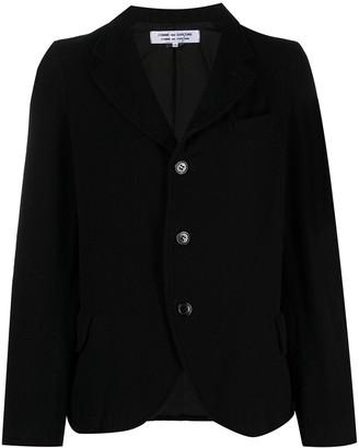 Comme des Garçons Comme des Garçons Single-Breasted Wool-Blend Blazer
