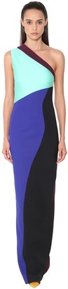 Fausto Puglisi Long One Shoulder Stretch Dress