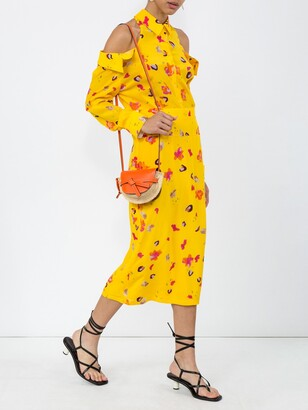 Altuzarra chiara dress yellow