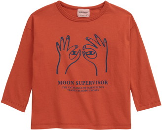 Bobo Choses Moon Supervisor Graphic Tee