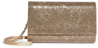 Judith Leiber Crystal Embellished Fizzoni Clutch Bag