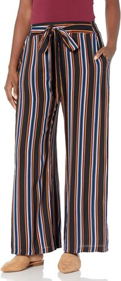 Angie Women's Wide Leg Pants with SELF TIE