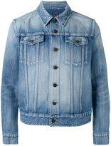 Saint Laurent stonewashed jacket - men - Cotton - M