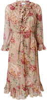 Zimmermann floral ruffle dress