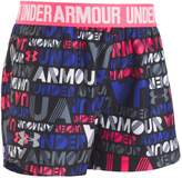 Under Armour Toddler Girl Logo Band Wordmark Play Up Shorts