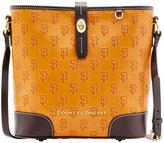Dooney & Bourke San Francisco Giants Leather Crossbody Bucket