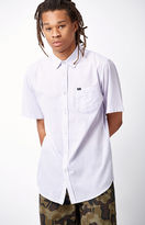 Obey Trenton Striped Short Sleeve Button Up Shirt