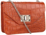Jessica Simpson Natalie Flap Crossbody (Paprika) - Bags and Luggage