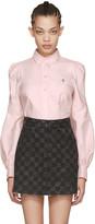 Marc Jacobs Pink Bishop Sleeve Shirt