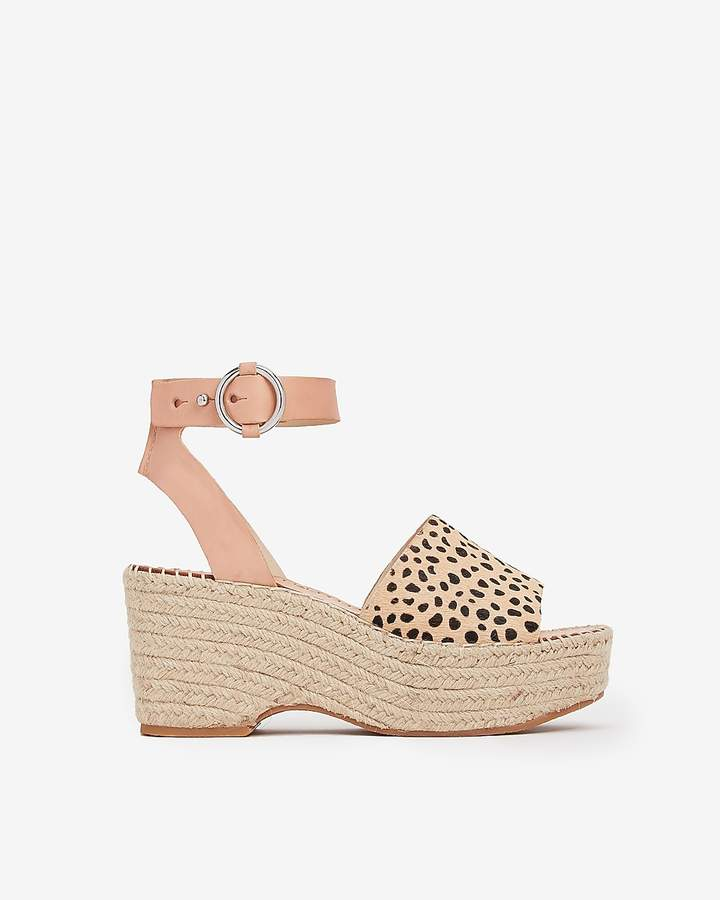 Express Dolce Vita Wedge Sandals