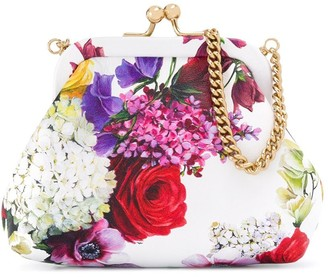 Dolce & Gabbana Kids Floral Shoulder Bag